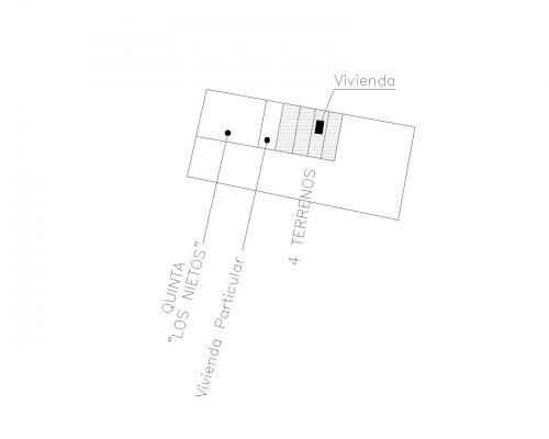 Fotos de Remato 4 lotes juntos con una casa en j.a. saldivar 3