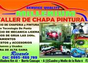 TALLER DE CHAPERIA PINTURA MILLENIUM SERVISE QUALITY