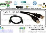 CABLE USB A-B (PARA IMP)