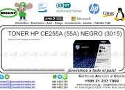TONER HP CE255A (55A) NEGRO (3015)