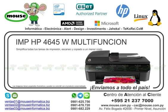Imp hp 4645 w multifuncion
