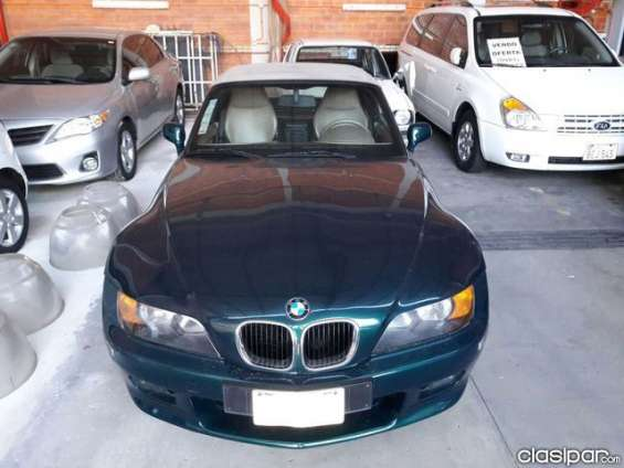 Ofertisima!!!!! bmw z3 roadster, año 2000, color verde, 40.000 km de perfecta