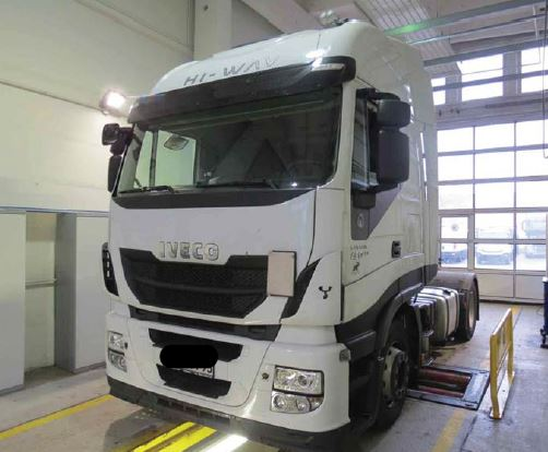 Iveco highway as highway 190/440 s 42 stralis