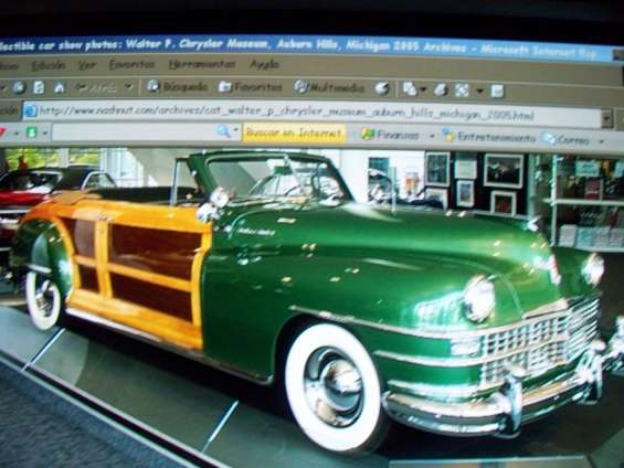 Chrysler yown & country convertible * 1947