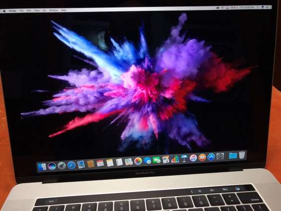 "Apple mac book pro 15"" touch bar (2017) silver, 3.1 ghz corei7, 16 sdram, 2tb ssd"