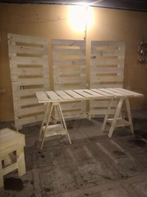 Alquilo muebles en palet