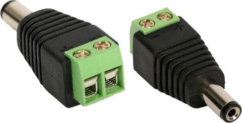 Cctv conector tipo p4 de energia