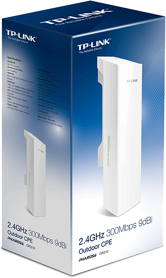 Cpe outdoor tp-link cpe -210 300mbps 9dbi