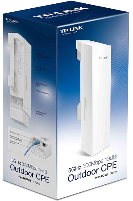 Cpe outdoor tp-link cpe -510 300mbps 13dbi