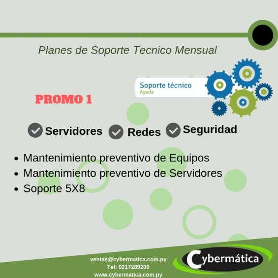 Servicio tecnico mensual